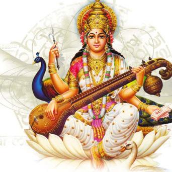 Déesse Saraswati